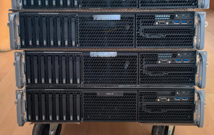 Microsoft S2D Cluster
